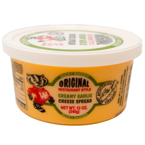 Bucky Badger Garlic Restaurant Style Cheese Spread