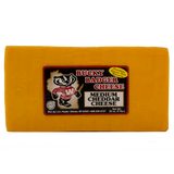 Bucky Badger Medium Cheddar Cheese