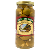 Forest Floor Bleu Cheese Stuffed Queen Olives