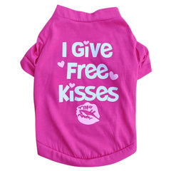 I Give Free Kisses Pup Shirt