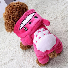 Soft Fleece Hoodie Siamese Clothing