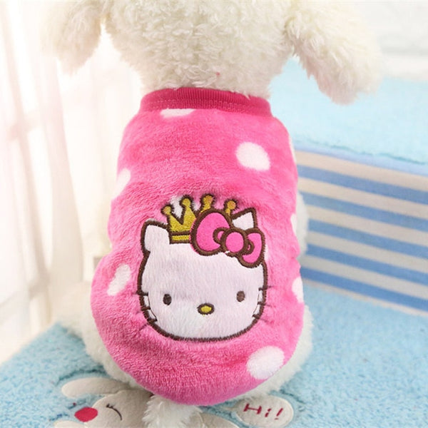 Soft Fleece Pet Clothes