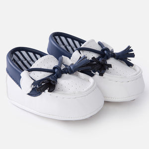 Leathrette moccasins 9743