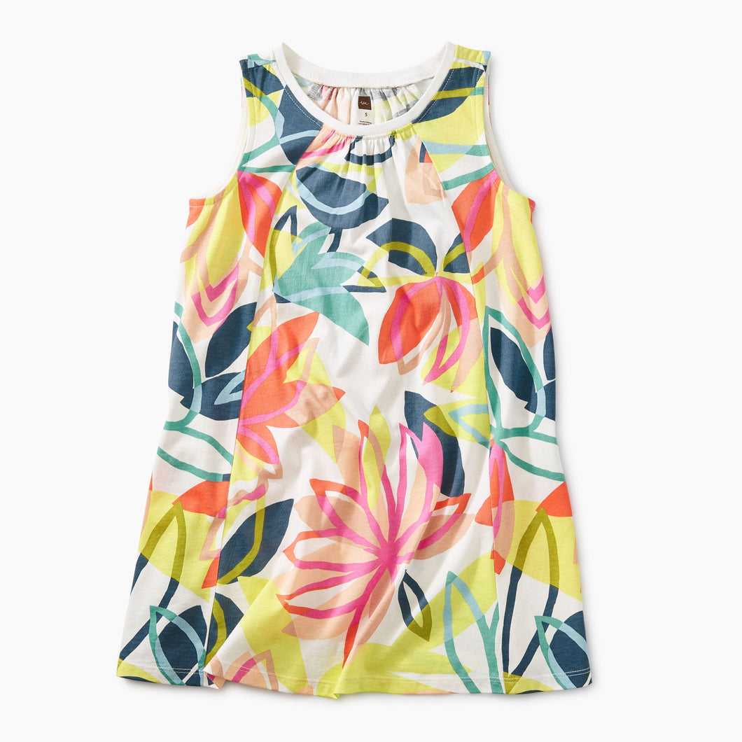 Tradewinds Floral Trapeze Dress