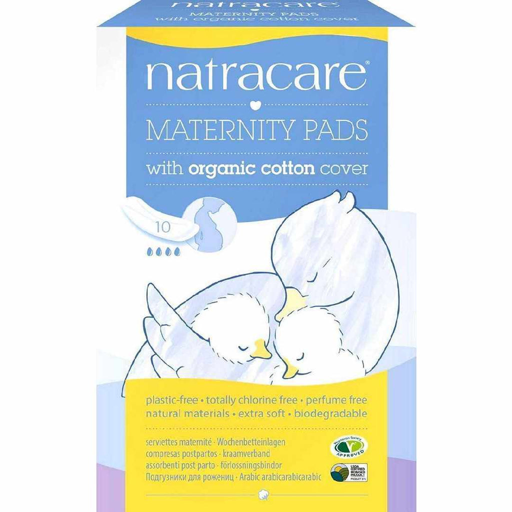 Natracare New Mother Natural Maternity Pads - 10