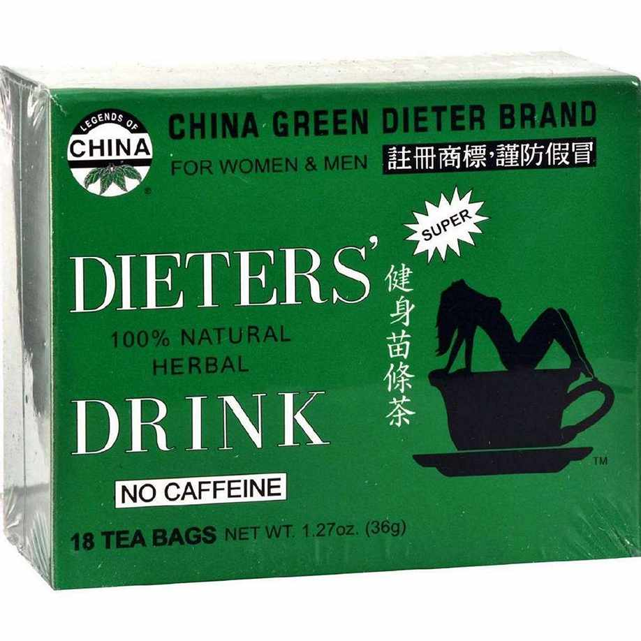Uncle Lees China Green Dieters Tea Drink - 18 Bags