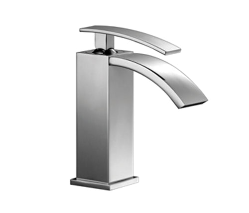 Single Lever Basin Mixer without Pop-up Waste
