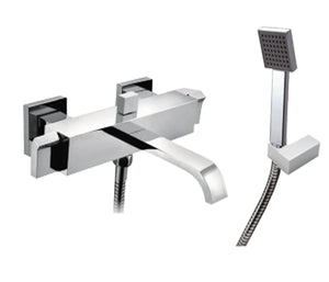 Wall Mounted Bath Shower Mixer with Kit