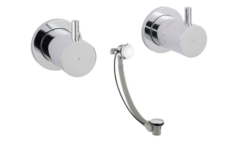 Florence Wall Mounted Valves with Exofill [55089A6]