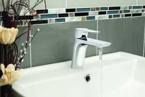 Chronos Single Lever Basin Mixer - Tapron