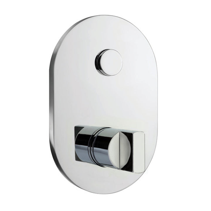 Major 1 Outlet Touch Push Button Concealed Thermostat Valve