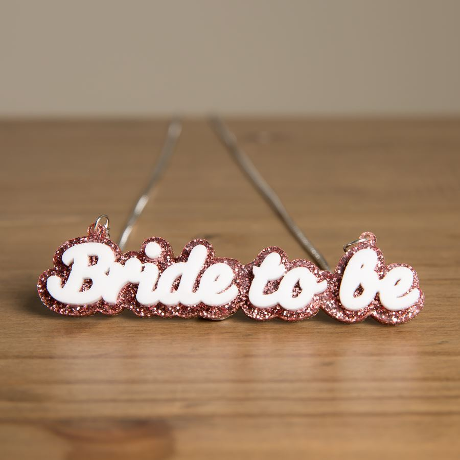 Bride To Be Necklace - Funky Laser