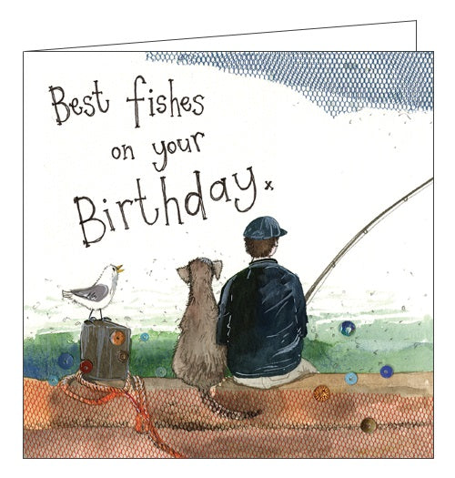 Alex Clark for him Happy Birthday best fishes on your Birthday fishing Happy Nickery Nook