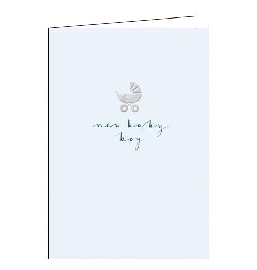 Woodmansterne Beth Lewton Congratulations on your new baby boy card Nickery Nook