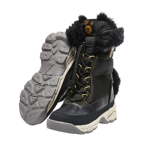 Hummel Snow Boot JR Sort Pels