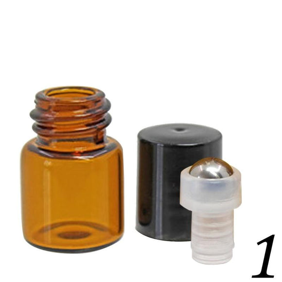 1ml 2ml 3ml 5ml Mini Travel Glass Perfume Bottle for Essential Oils Empty Container