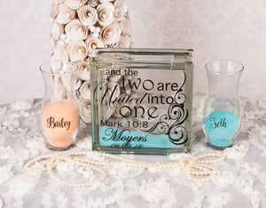 Wedding sand ceremony set