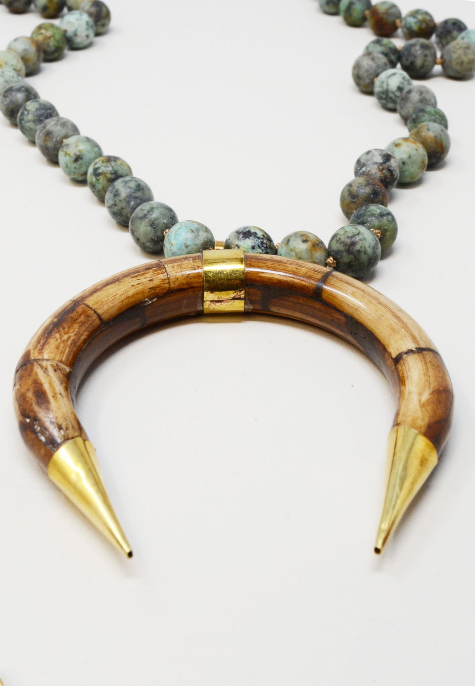 Ox Bone in Turquoise - ANTHER a shop