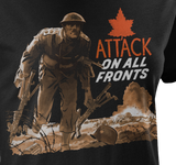 Attack On All Fronts WW2 Women's T-Shirt