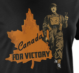 Canada For Victory Mk. 1 Women's T-Shirt