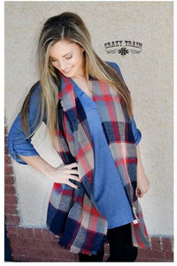 The Perfect Present Plaid Scarf