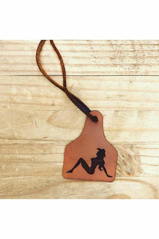 Cowgirl Babe Scented  Leather Car Freshener