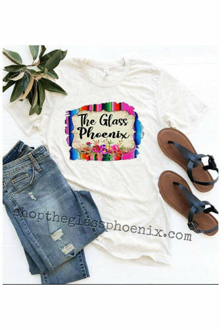 The Glass Phoenix Serape Tee