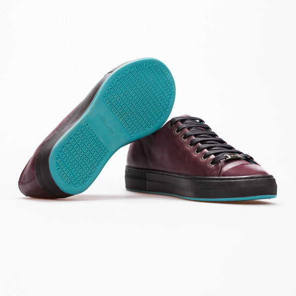 Megan – Leather Bordeaux - BUB Leather Shoes