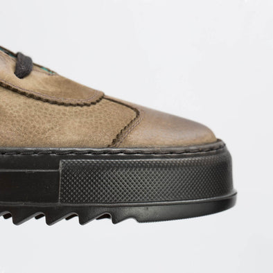 Shaun – Nubuck Khaki - BUB Leather Shoes