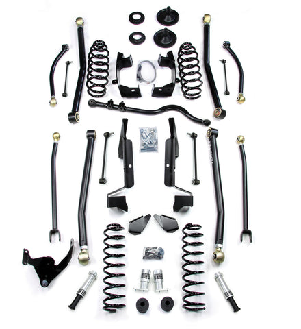 JK 2 Door 3 Elite LCG Long FlexArm Lift Kit W/SpeedBumps 07-Pres Wrangler JK TeraFlex