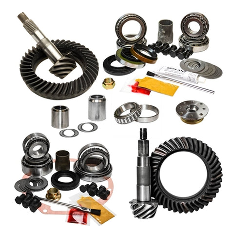 Nitro Gear Package: 1995.5-2004 Toyota Tacoma & 2000-2006 Tundra, without E-Locker