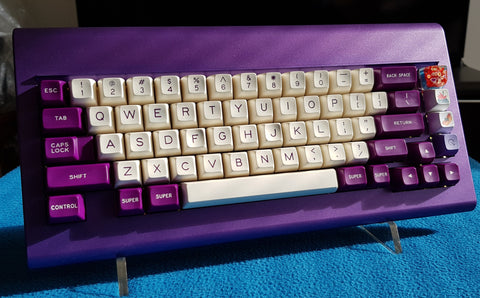 SA Violet on Cream Keyset