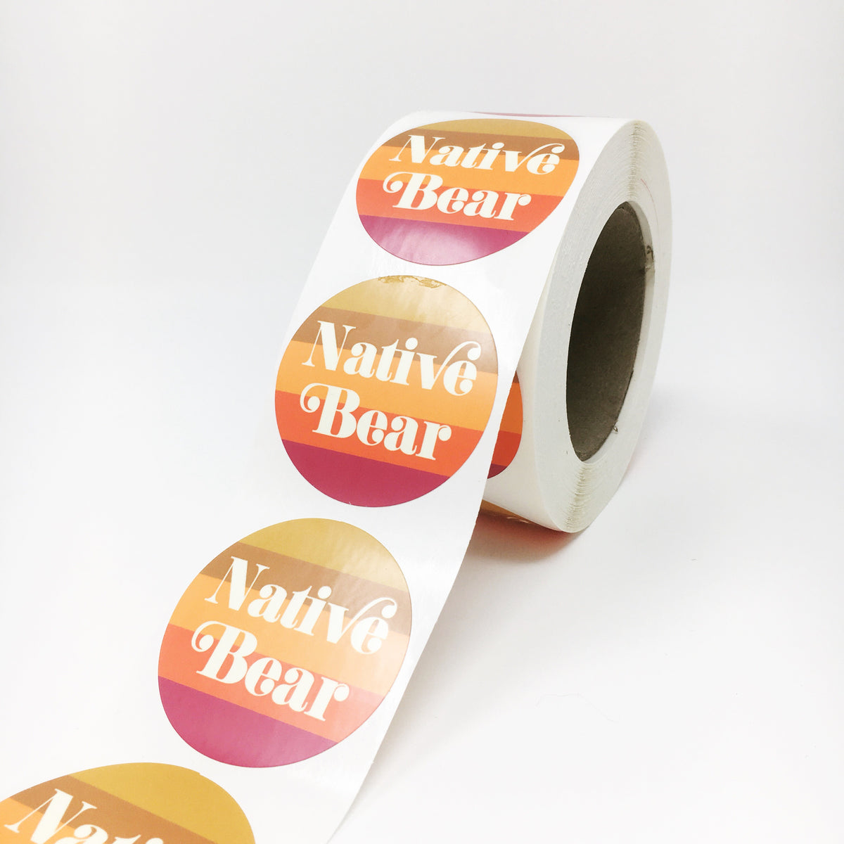 Full Color Roll Labels
