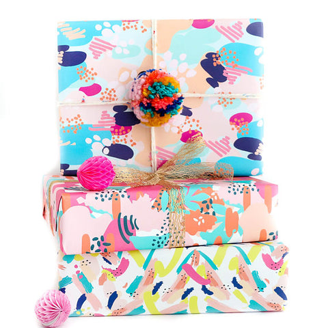 Modern Abstract Wrapping Paper