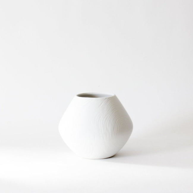 Matte Glazed Ceramic Vase, handcrafted