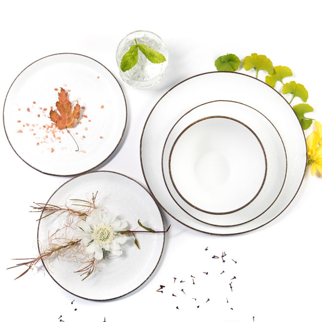 Simple White Dinnerware Collection