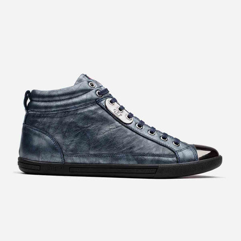 High-Top Metal Shoes Blue - Top High-top Shoes - OPP Official Store (OPP France)