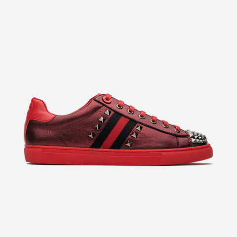 Casual Lace-Up Shoes Red - Top Casual Shoes - OPP Official Store (OPP France)