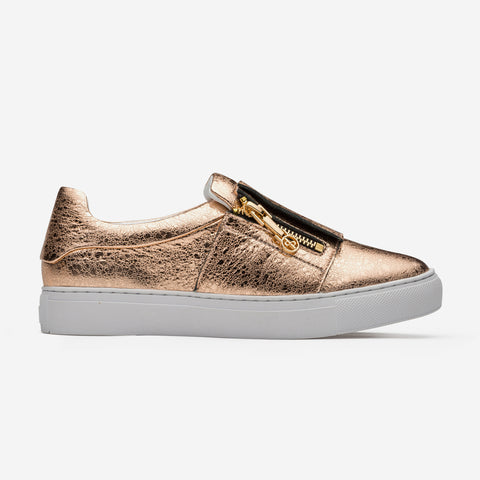 Women Loafers Shoes Golden - Top Women Loafers - OPP Official Store (OPP France)