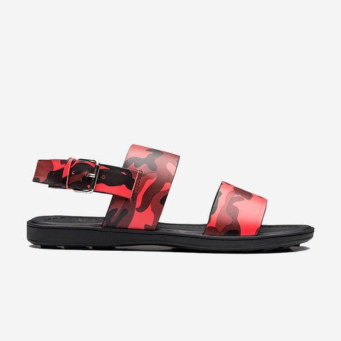 Camouflage Sandal Red - Top Sandal - OPP Official Store (OPP France)