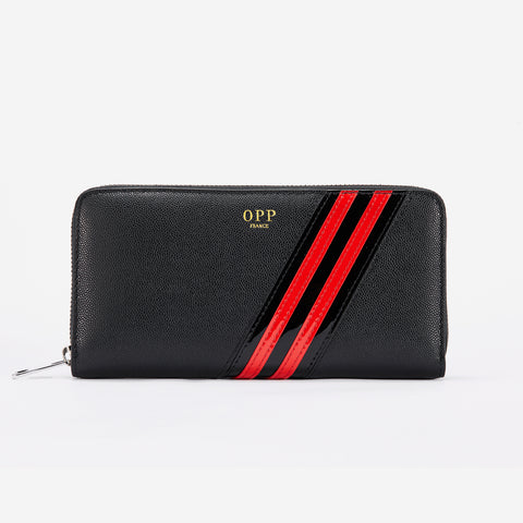 Long Leather Wallet - Top Wallet - OPP Official Store (OPP France)