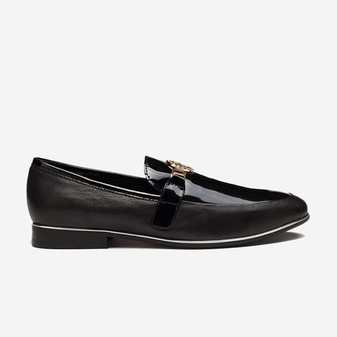 Buckle Dress Shoes Black - Top Dress Shoes - OPP Official Store (OPP France)