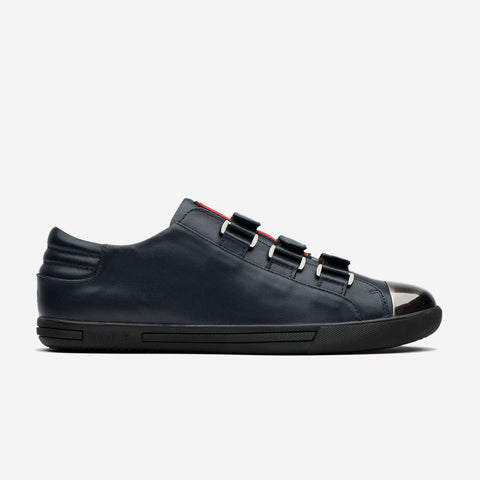 Metal Hook&Loop Shoes Dark Blue - Top Casual Shoes - OPP Official Store (OPP France)