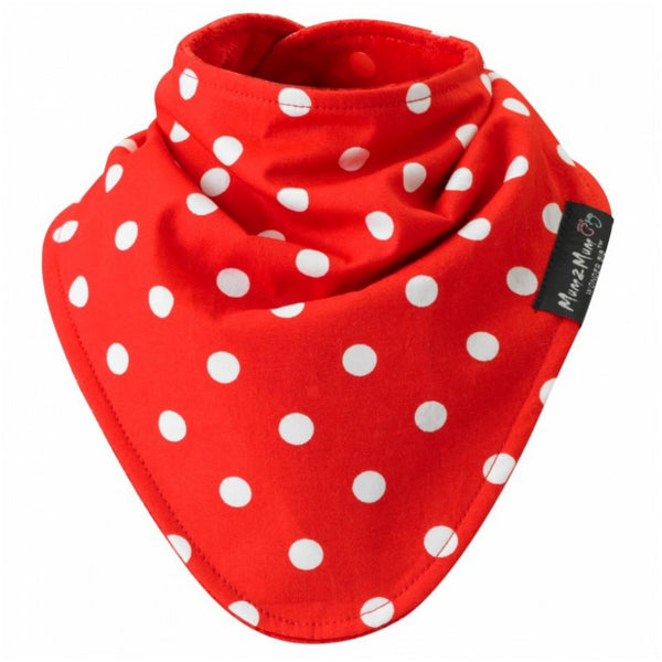 SQUARE Fashion Red Dots Worn