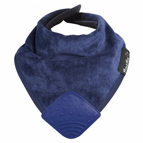 Mum 2 Mum Teething Bandana Wonder Bib Navy