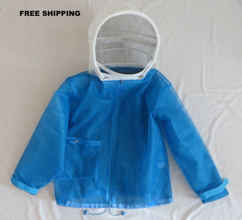 Cool Blue ventilated Beekeepers Jacket FREE SHIPPING USA
