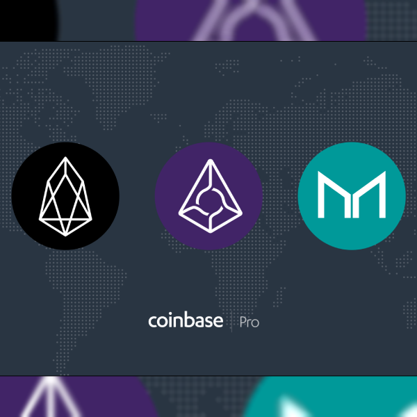 EOS, Augur and Maker Launching on Coinbase