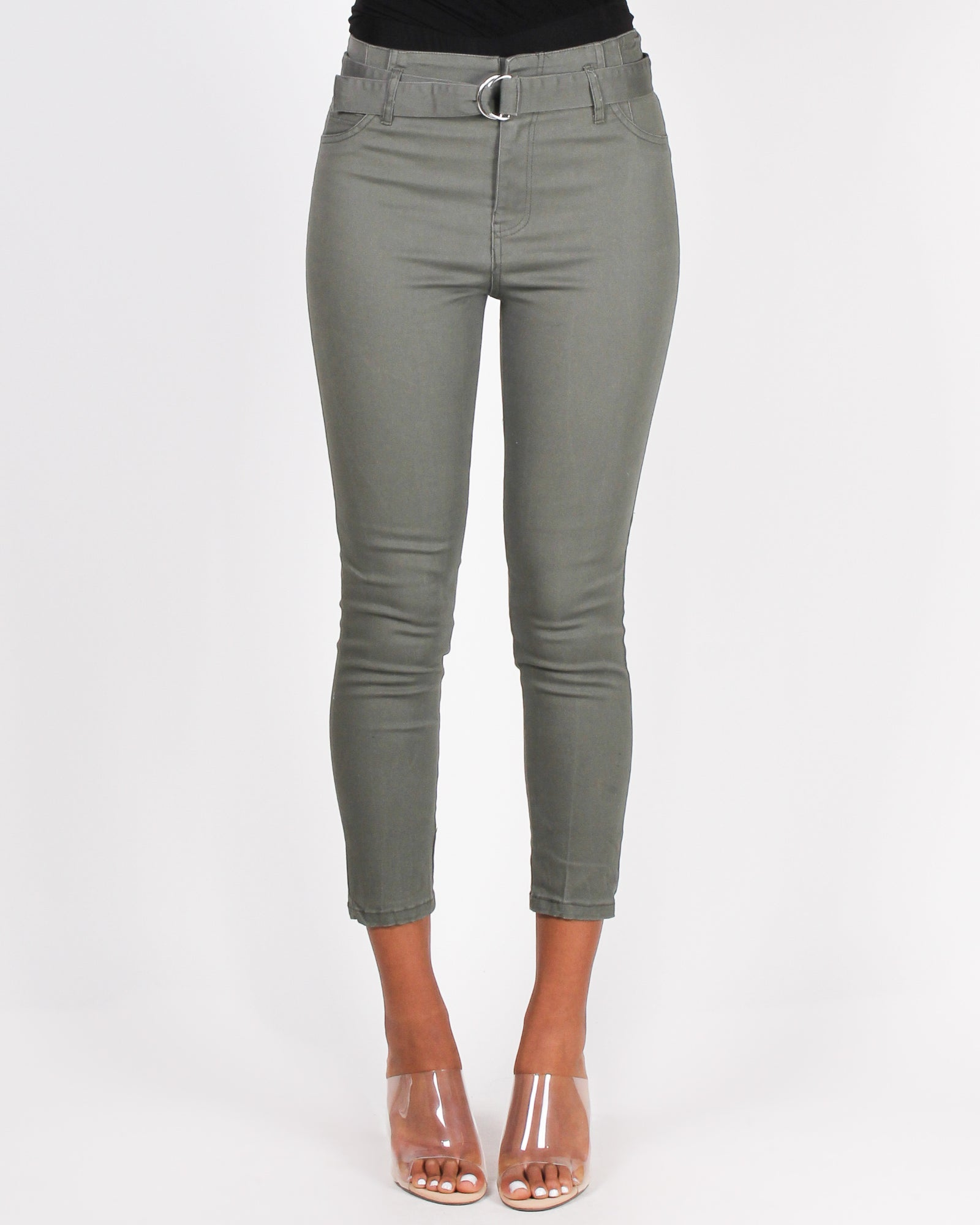 Let Your Feet Wander and Soul Ignite Pants (Olive)