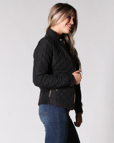 Chasing The Wind Quilted Jacket