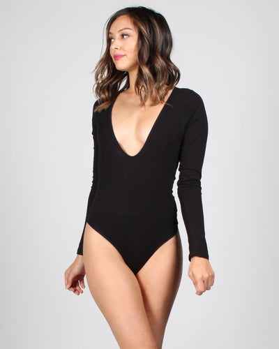 Million Dollar Assets Bodysuit S / Black